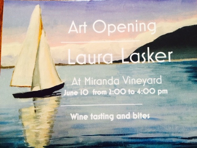 Laura Lasker Art Exhibit Goshen CT